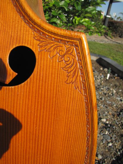 1963 Pollman small 7/8 carved back 5 string