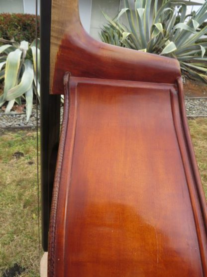 1976 Schroetter 3/4 violin corner carved back
