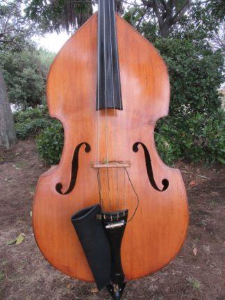 1920s 3/4 Bohemian flatback bass