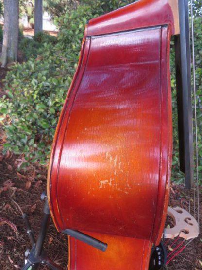 ca. 1960s Schuster carved back 3/4