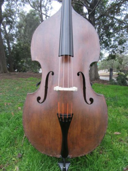 ca. 1900 Bohemian 3/4 carved back