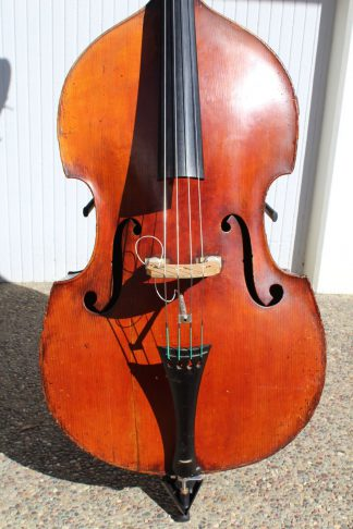 ca. 1890 Tyrolean 3/4 carved back