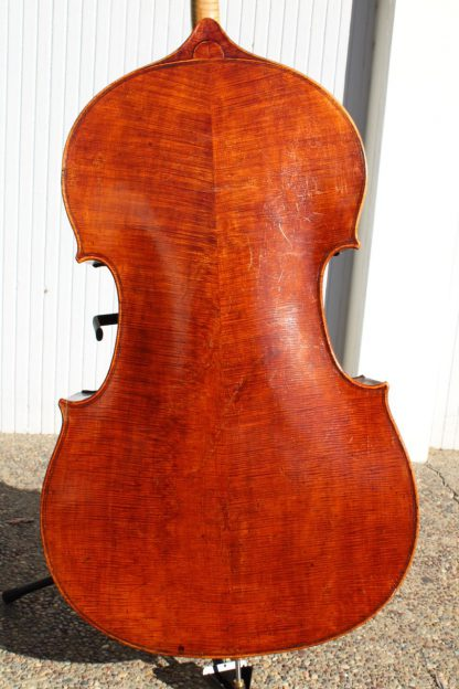 ca. 1875 French 7/8 carved back