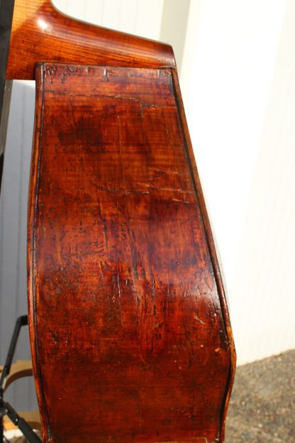 ca. 1900  German (Roth?) 7/8 carved back w/ Jason Brown C extension