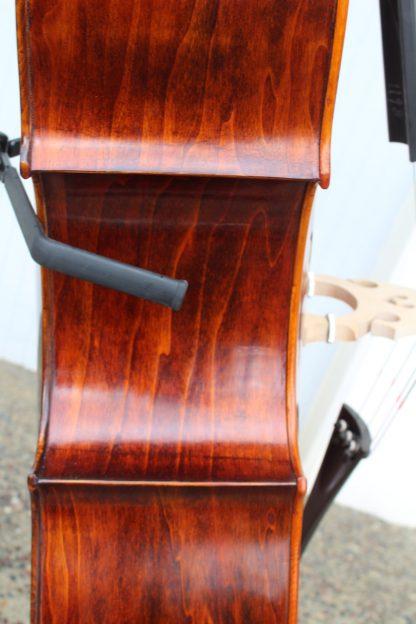 New Shen SB 200 3/4 violin corner Willow carved back