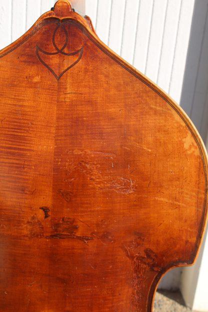 ca. 1930s German 3/4 carved back