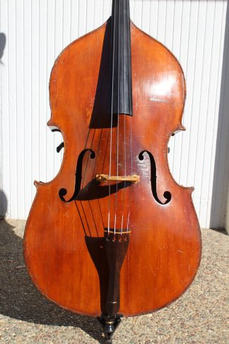 1920s German 7/8 violin corner carved back