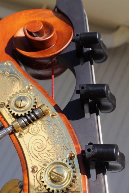 2004 Wilfer 7/8 violin corner carved back (Model 11?)