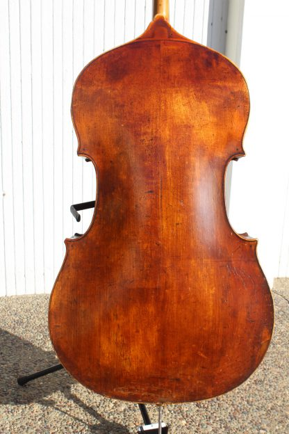 ca. 1850 French large modified 3/4 carved back