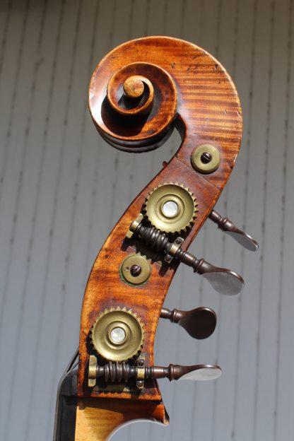 ca. 1860 Thibouville-Lamy 3/4 carved back