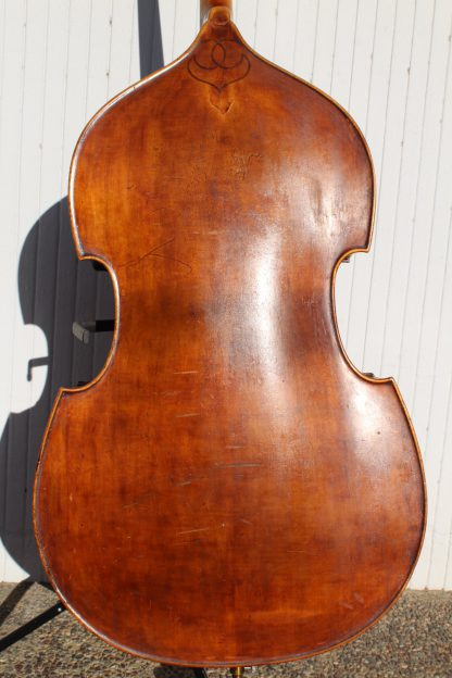 ca. 1920s Knilling 3/4 carved back