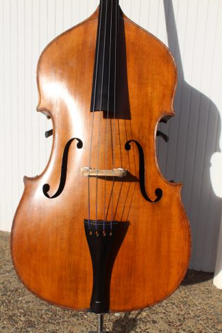 ca. 1920s German 3/4 carved back