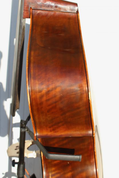 ca. 2009 A&G 3/4 all-solid woods carved back