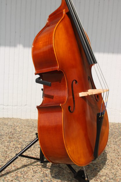 New Century Strings 1/4 size hybrid bass with bow